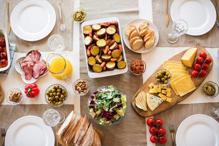 hotel services - greek breakfast