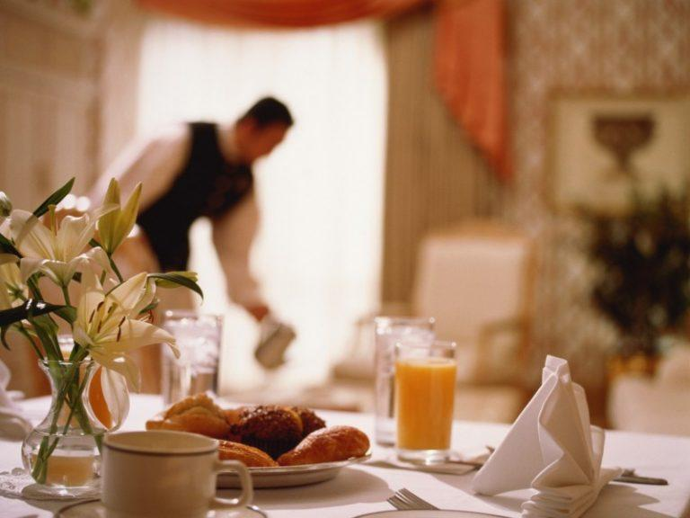 hotel services - room service