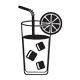 menu Juice Tea Shake
