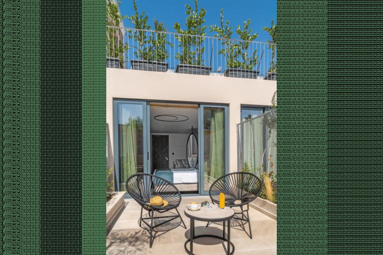 Agora Suite terrace